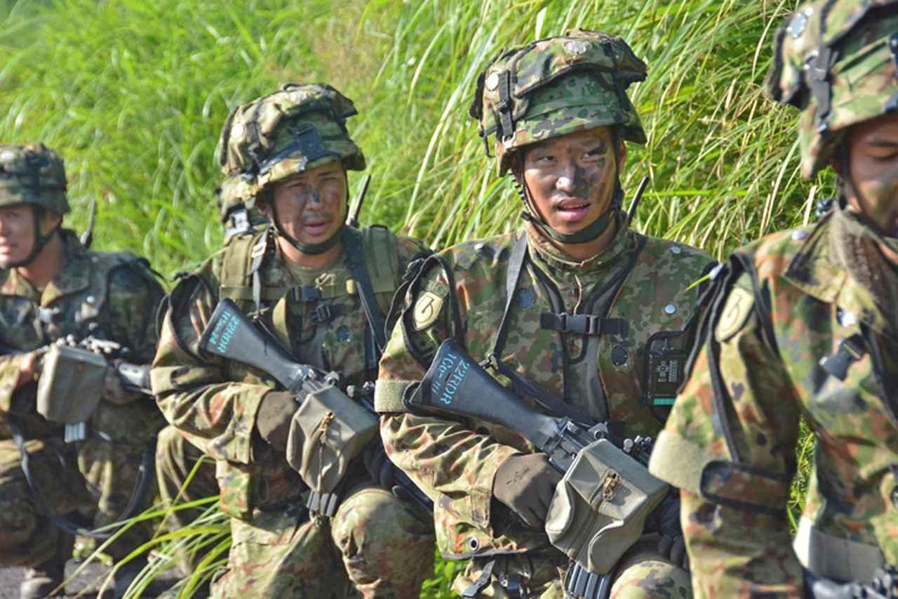 画像11: 野営訓練で即応機動連隊の練度向上図る 多賀城駐屯地