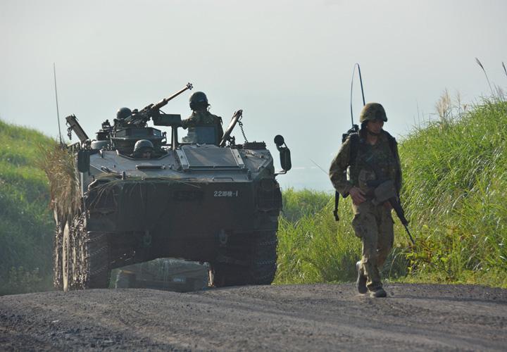 画像10: 野営訓練で即応機動連隊の練度向上図る 多賀城駐屯地