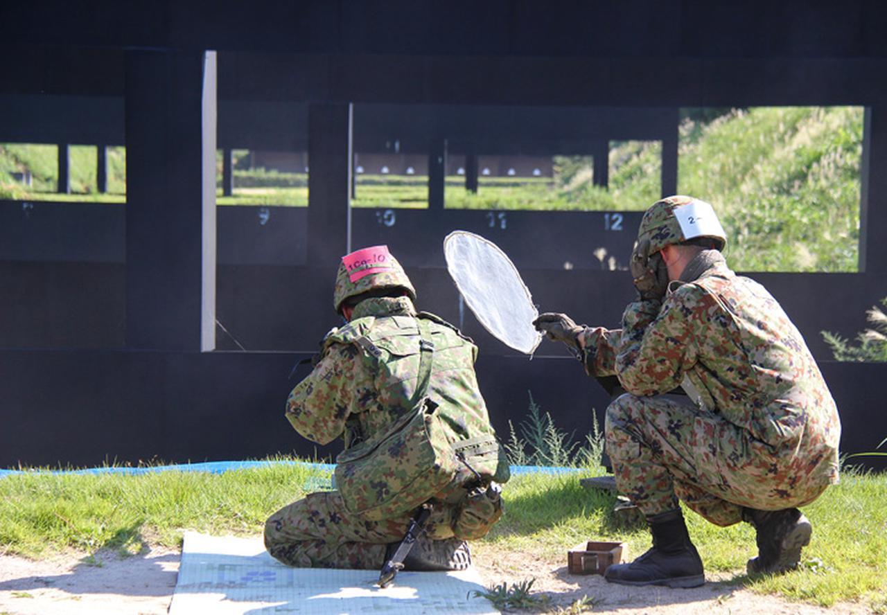 画像4: 6施設大隊射撃競技会 12年ぶり1中隊がV 神町駐屯地
