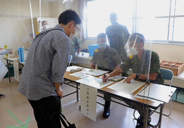 画像1: 予備自衛官48人が5日間招集訓練|松戸駐屯地