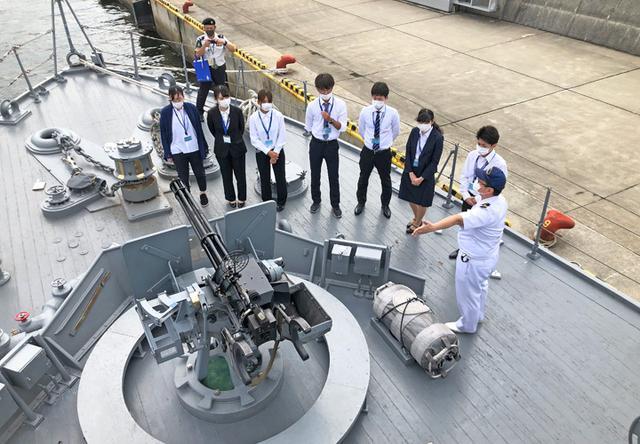 画像5: 大学生が海自インターン「魅力感じた」|大阪地本