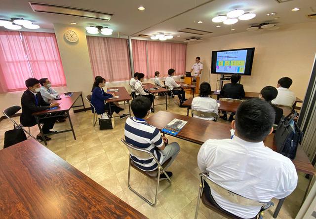 画像1: 大学生が海自インターン「魅力感じた」|大阪地本