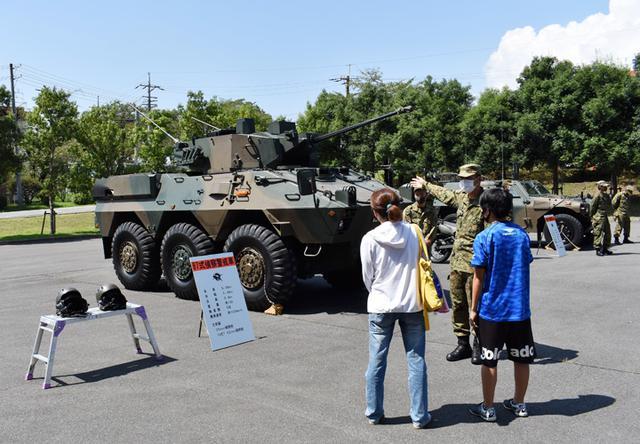 画像2: 募集対象者がヘリ体験 部隊見学も|群馬地本