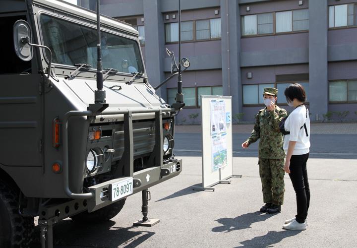 画像5: 募集対象者がヘリ体験 部隊見学も|群馬地本
