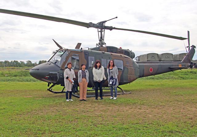 画像5: 防衛モニターらヘリ体験搭乗|名寄駐屯地
