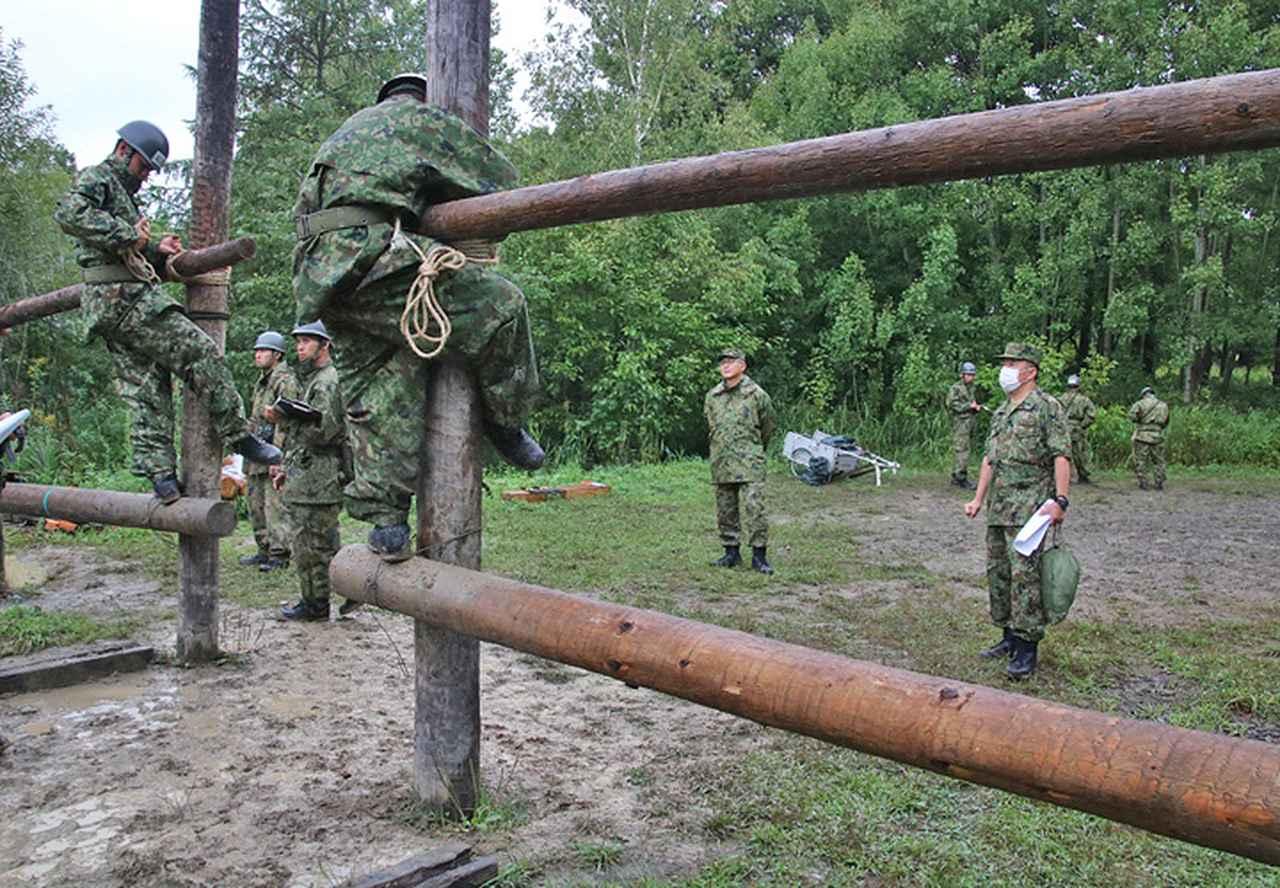 画像6: 「施設科隊員として新たな1歩」54人が課程修了|岩見沢駐屯地