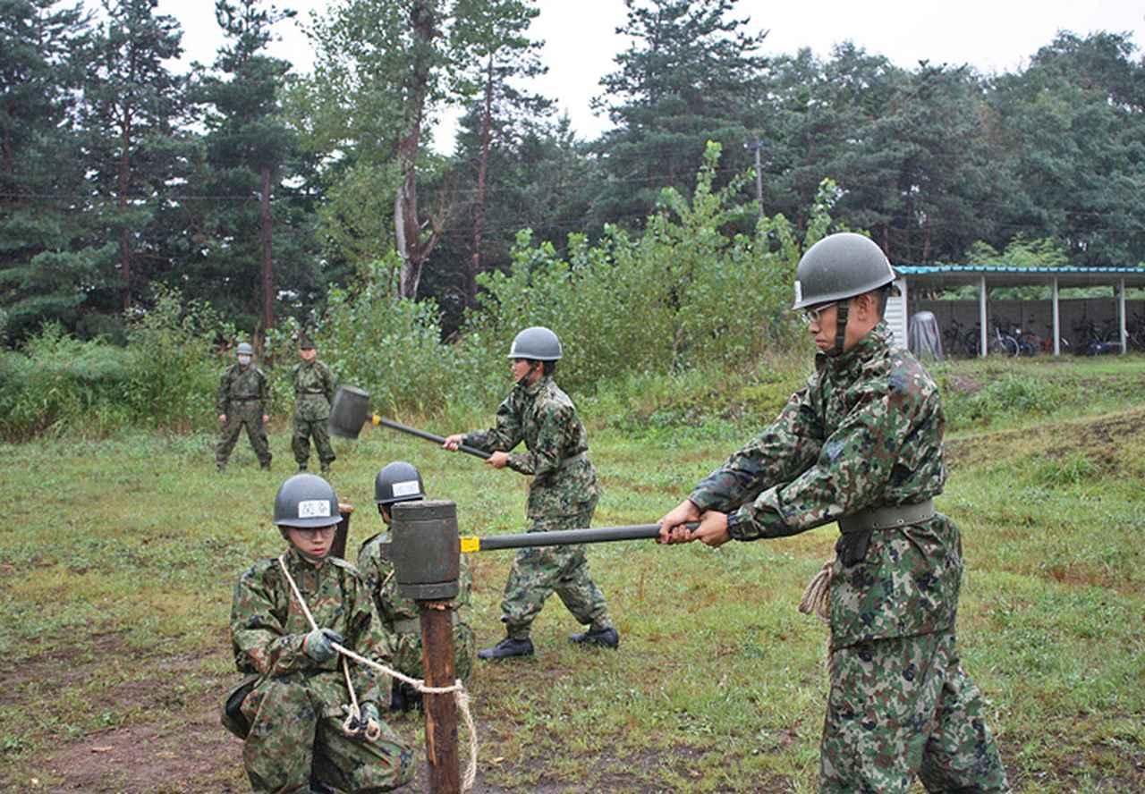 画像5: 「施設科隊員として新たな1歩」54人が課程修了|岩見沢駐屯地