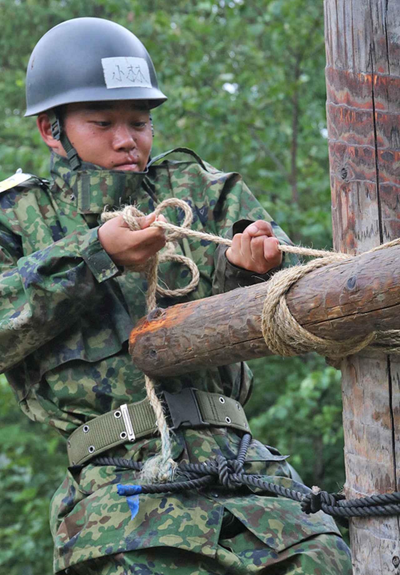 画像7: 「施設科隊員として新たな1歩」54人が課程修了|岩見沢駐屯地