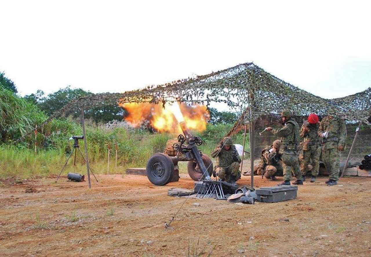 画像3: 44普連が6師団訓練検閲 8日間の行進後、防御戦闘 福島駐屯地