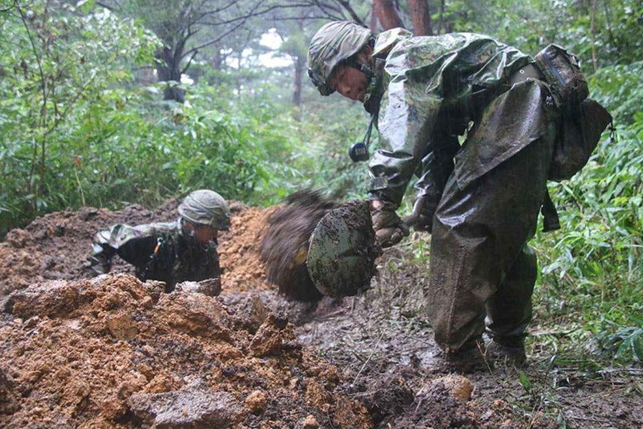 画像2: 44普連が6師団訓練検閲 8日間の行進後、防御戦闘 福島駐屯地
