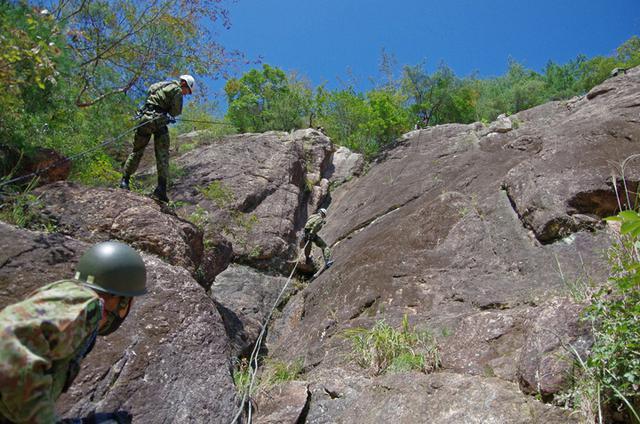画像5: 山地潜入総合訓練(2020年9月29日~10月1日)