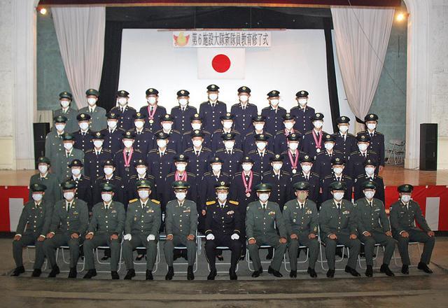画像4: 後期教育修了の36人、施設科隊員に|神町駐屯地
