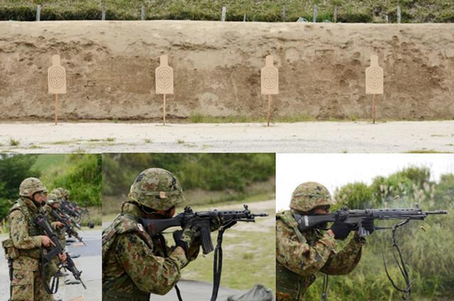 画像: 各部隊の射撃練度の判定