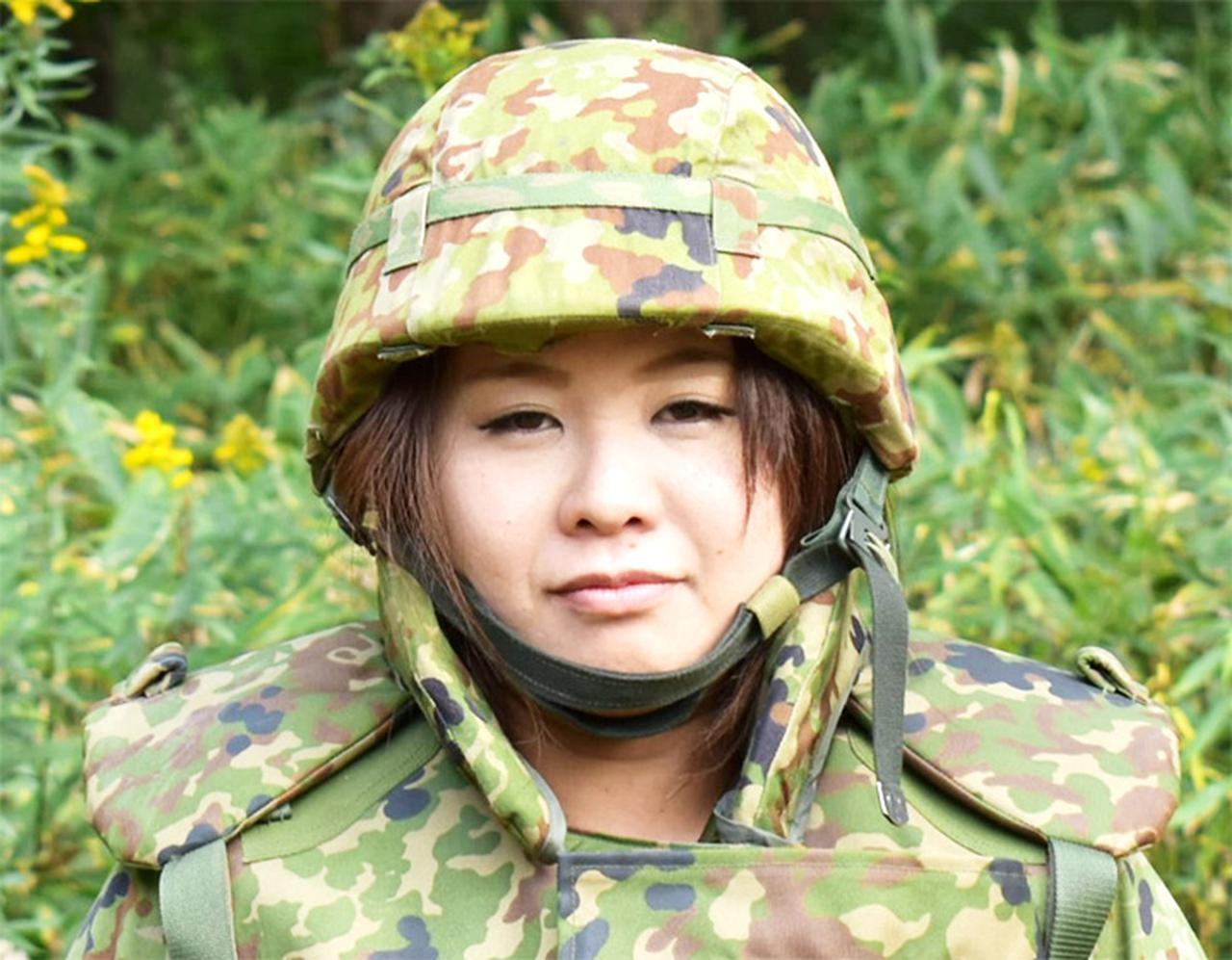 画像: 小山 里絵即応予備2陸曹