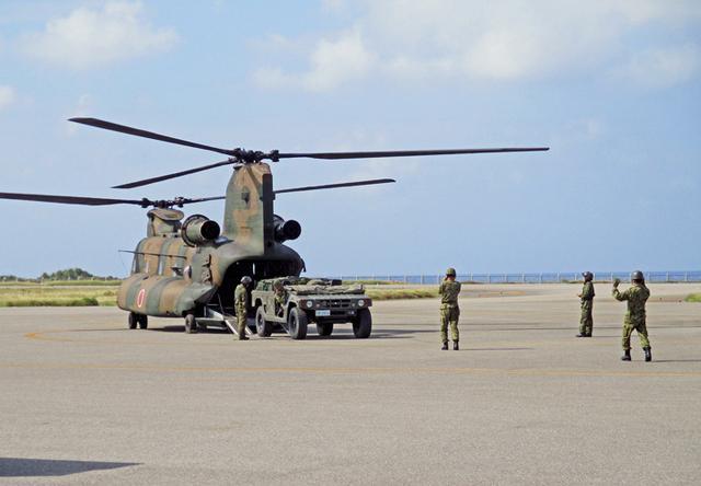 画像4: 善通寺、与那国両駐で中方機動展開訓練|陸自14旅団
