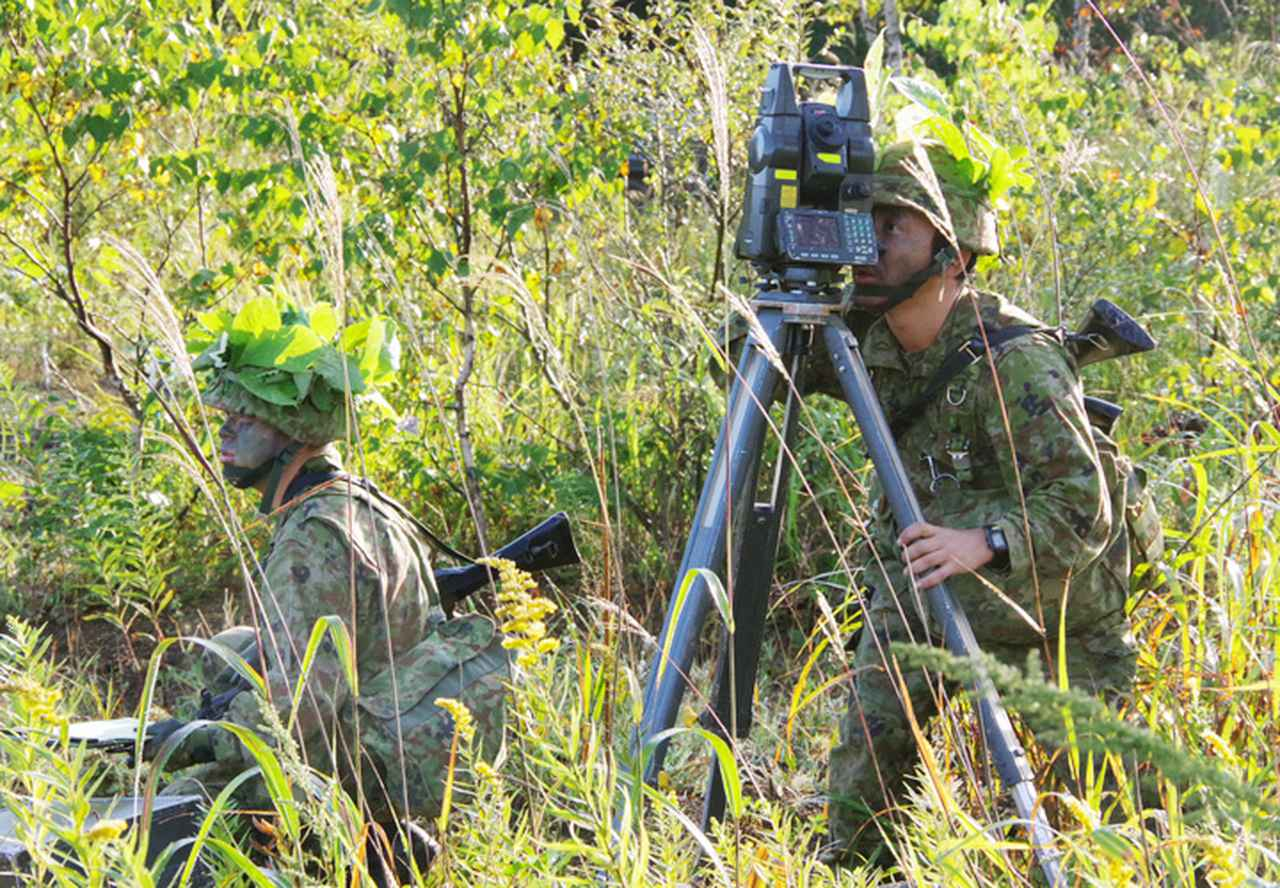 画像2: 4特科群が2個特大の訓練を検閲|上富良野駐屯地