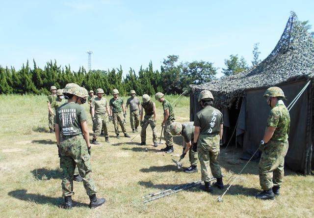 画像2: 集中野外訓練に参加して 倉 真琴 1陸士(大津駐屯地 第397会計隊大津派遣隊)