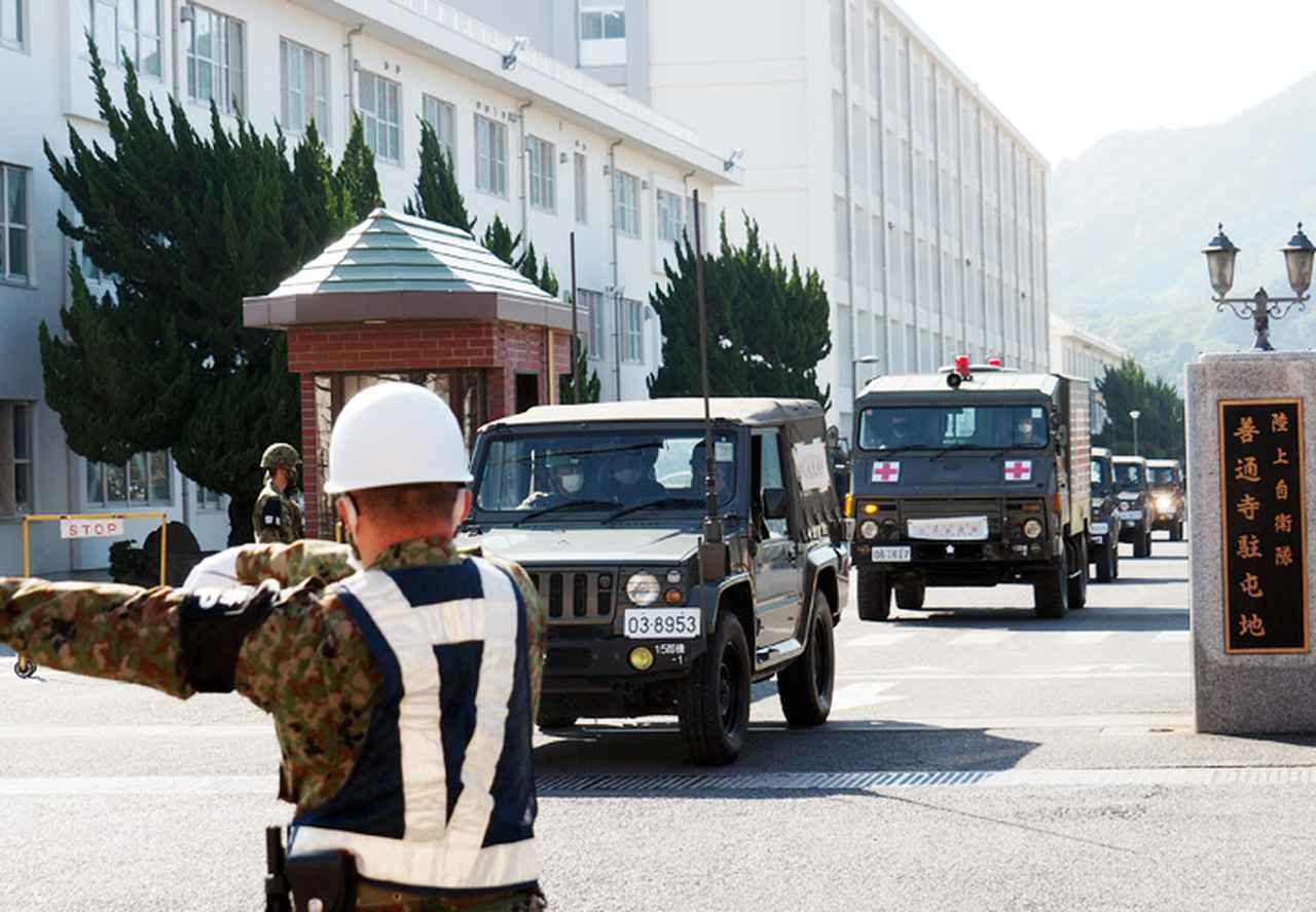 画像1: 香川で鳥インフルエンザ 11月に5件の災派 陸自14旅団