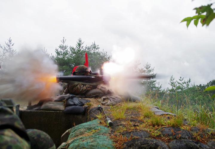 画像1: 47連隊射撃野営に即自含む230人が参加|海田市駐屯地