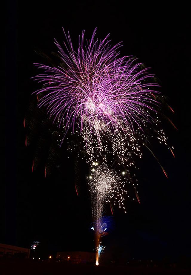画像4: 打ち上げ場所を提供「土崎夢花火」を支援|秋田駐屯地