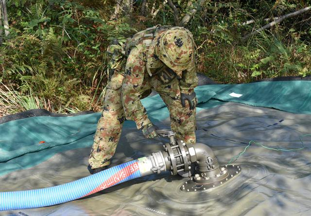 画像2: 事態対処兵站訓練 補給業務、駐屯地警備の練度向上|陸自関西補給処