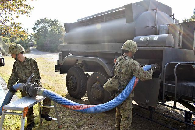 画像3: 事態対処兵站訓練 補給業務、駐屯地警備の練度向上|陸自関西補給処
