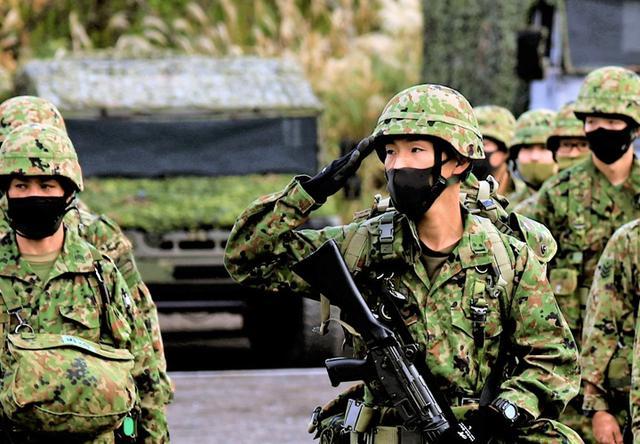 画像: 情報小隊長 平野2尉