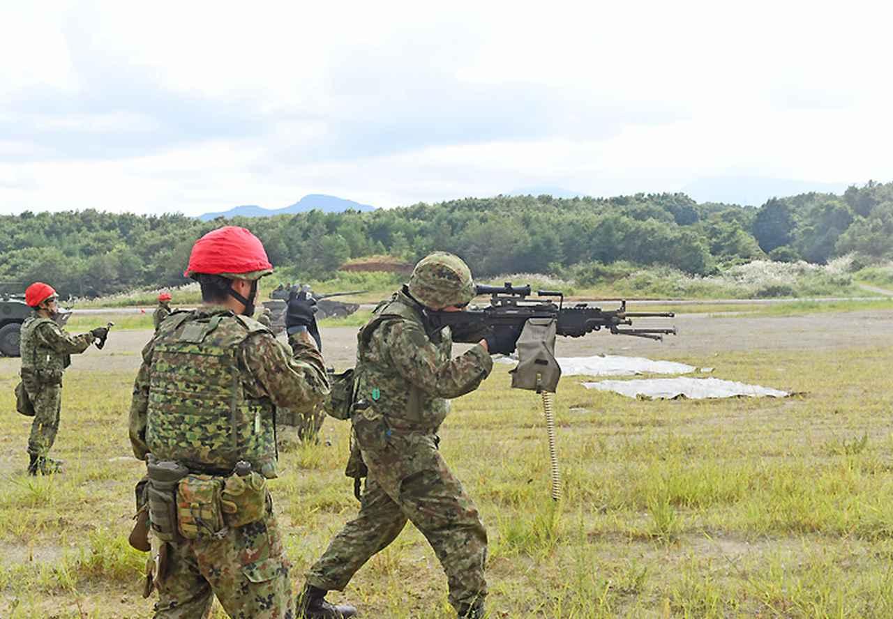 画像5: 22即機連野営訓練 機動と火力の連携を演練 多賀城駐屯地