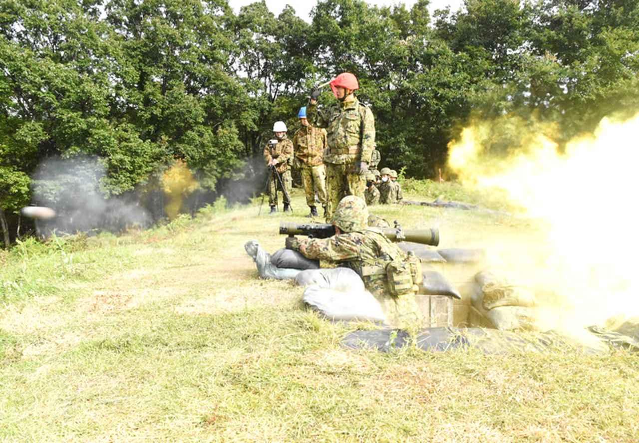 画像3: 22即機連野営訓練 機動と火力の連携を演練 多賀城駐屯地