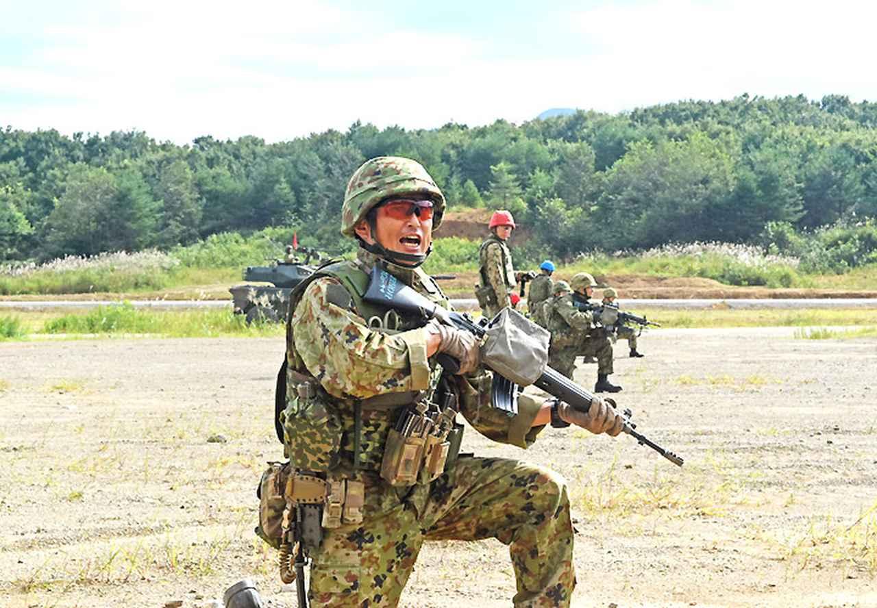 画像6: 22即機連野営訓練 機動と火力の連携を演練 多賀城駐屯地