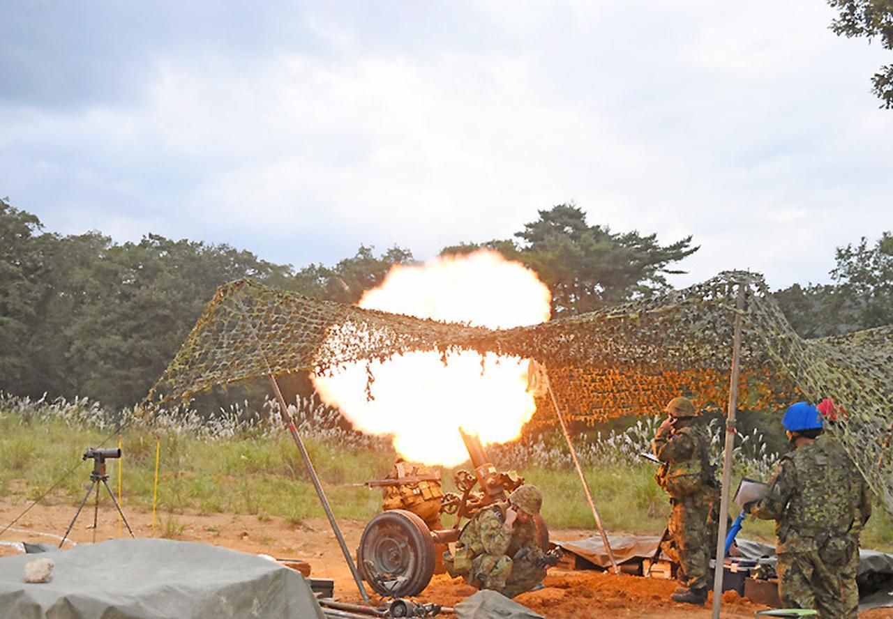 画像7: 22即機連野営訓練 機動と火力の連携を演練 多賀城駐屯地