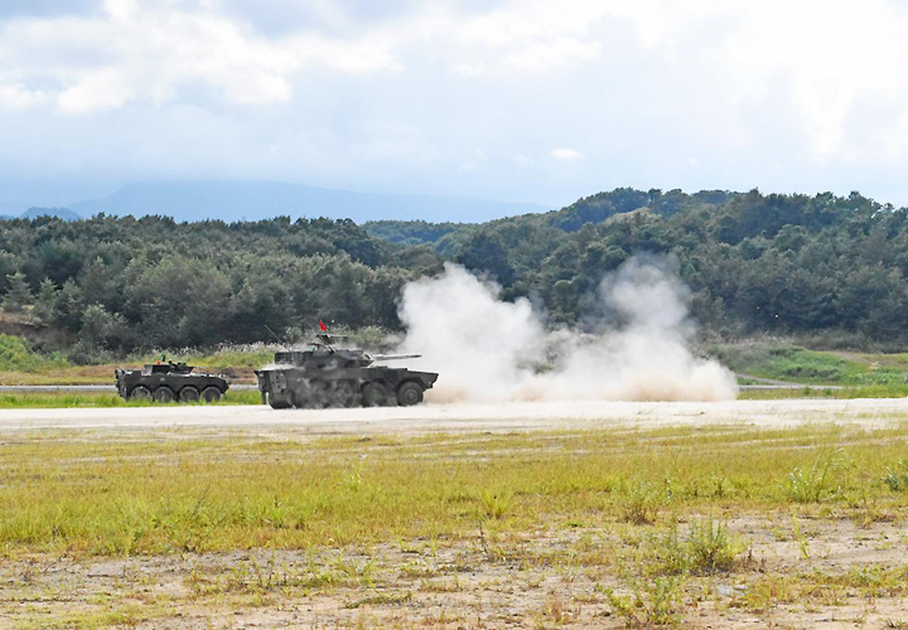 画像4: 22即機連野営訓練 機動と火力の連携を演練 多賀城駐屯地