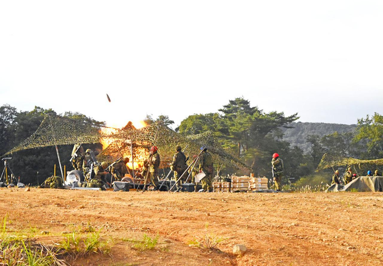 画像8: 22即機連野営訓練 機動と火力の連携を演練 多賀城駐屯地