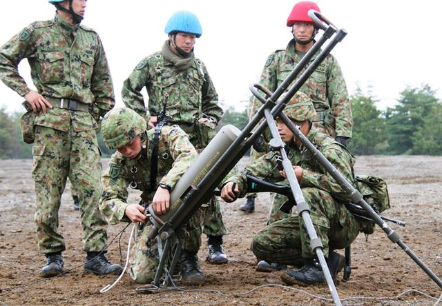 画像: 70MC投射準備