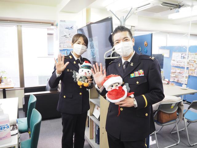 画像: めぐみさん:本当にありがとうございました! ぐみさん:ボク、2人の笑顔にやられちゃったな。メリークリスマス♪