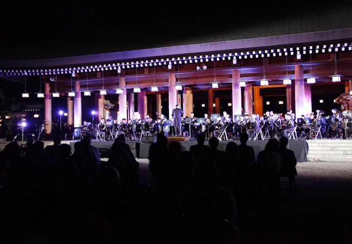 画像2: 「医療従事者に癒しを」陸自中方音楽隊がコンサート|奈良地本