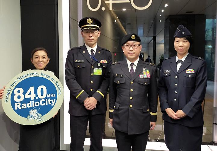 画像: 本部長がFMラジオに出演 自衛隊の魅力紹介|東京地本