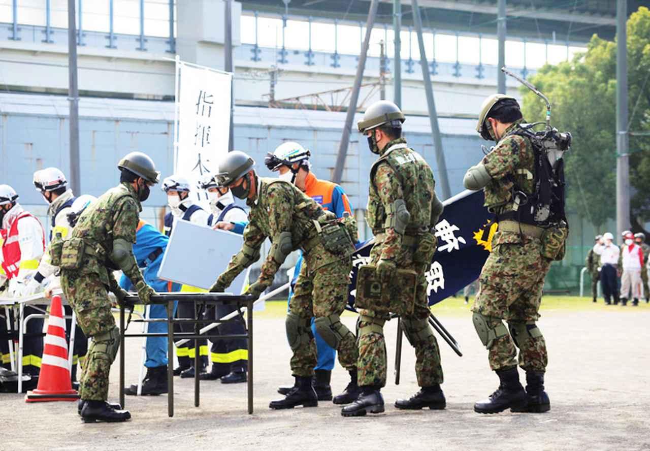 画像: 【横浜】関係機関に隣接した指揮所の設置