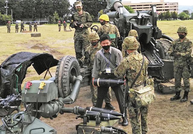 画像7: 陸自10師団が募集広報の日 対象者ら154人引率|愛知地本