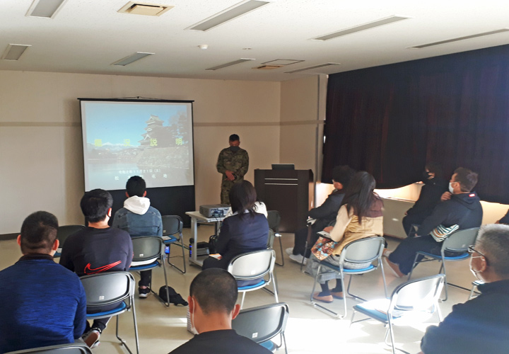 画像9: 初めての試み 職種に特化した駐屯地見学|長野地本
