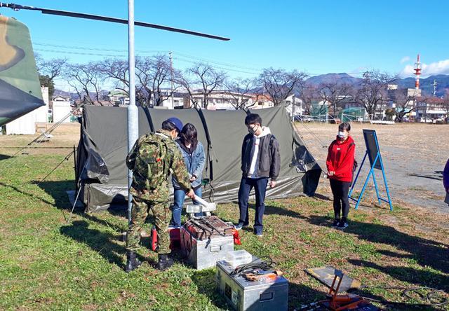 画像2: 初めての試み 職種に特化した駐屯地見学|長野地本