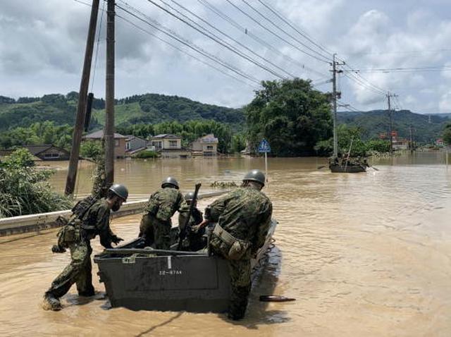 画像: 出典:統合幕僚監部「令和2年(2020年)7月豪雨に係る災害派遣について」 www.mod.go.jp