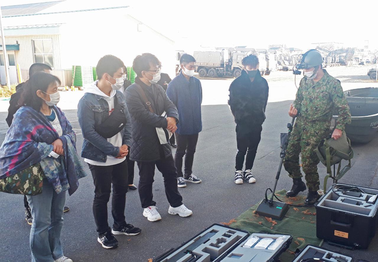 画像6: 初めての試み 職種に特化した駐屯地見学|長野地本