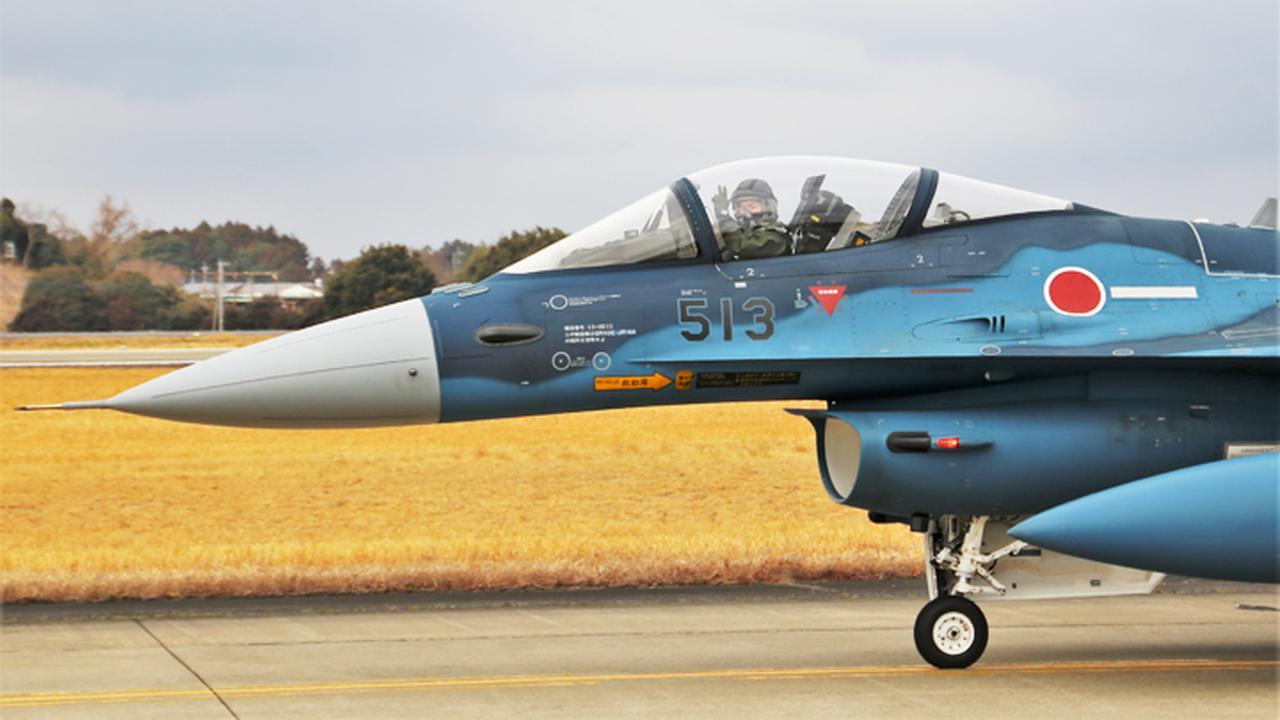 画像2: 第3飛行隊(F2戦闘機)飛行初め