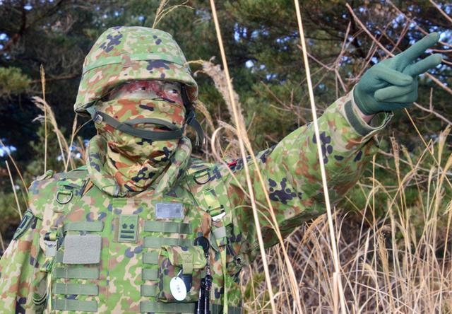 画像: 命令を下達し企図の徹底を図る大隊長