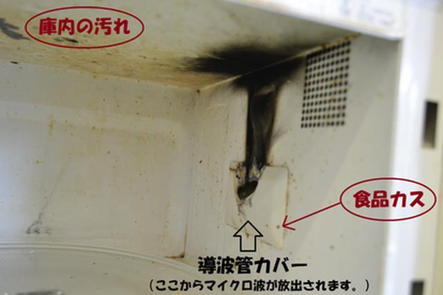 画像: 〈発火した食品カス〉 画像出典:田辺市HP www.city.tanabe.lg.jp