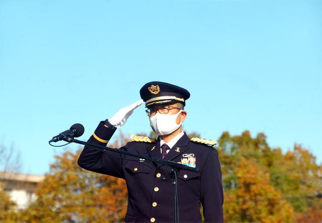画像: 第8高射特科群長兼ねて青野原駐屯地司令 久守1陸佐