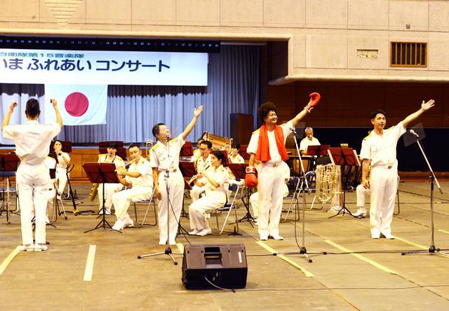 画像4: 15音楽隊コンサートを支援 中学生に演奏指導も|沖縄地本