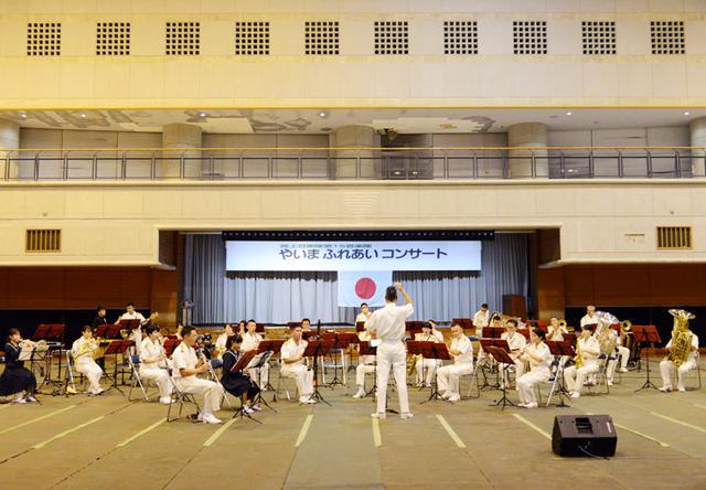 画像3: 15音楽隊コンサートを支援 中学生に演奏指導も|沖縄地本