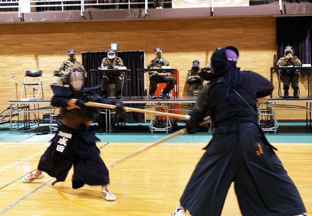画像: 第1中隊 成田士長 武装走に続き第1位を獲得